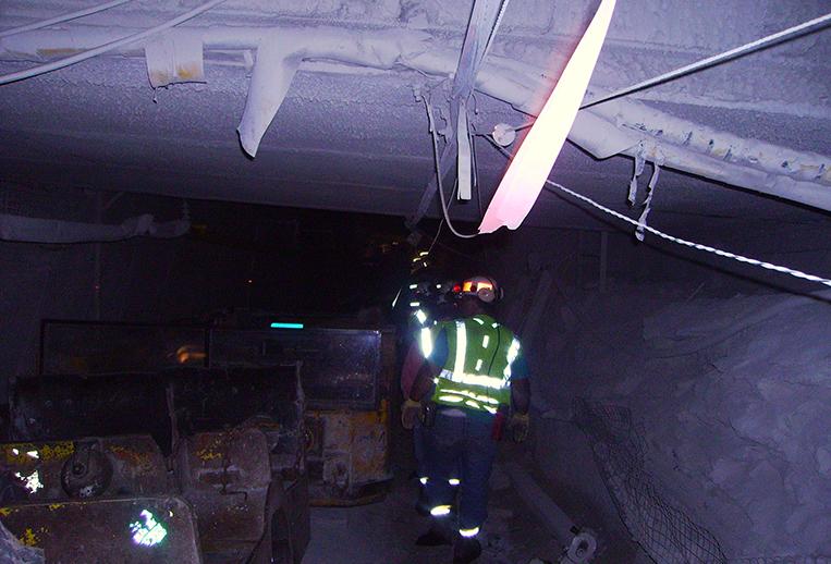 Underground Tracking